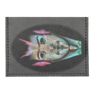 Card Case Wallet with abstrakt vampire Tyvek® Card Case Wallet