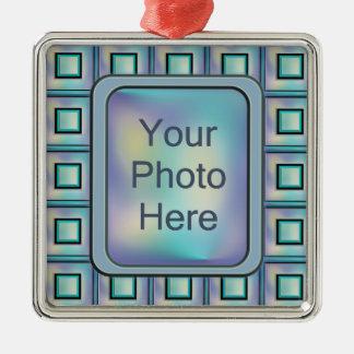 Card Catalog Metal Ornament