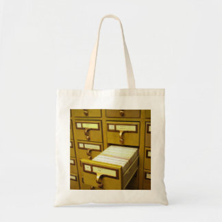 Card Catalog Tote Bag