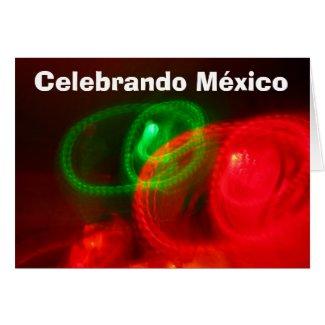 Card - Celebrando México - Arte Abstracto