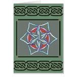 card- celtic snowflake by talkingfox