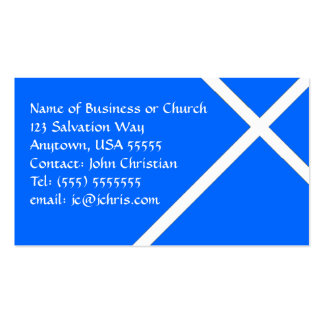 Card Christian Business For Churches & Pastors Double-Sided Standard Business Cards (Pack Of 100)