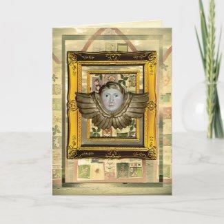 Card | Christmas Card Angel