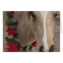 Card - Christmas Holiday Horse