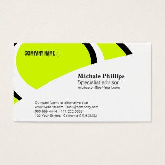 CARD CORPORATIVE standard WHITE BLACK COMPANY