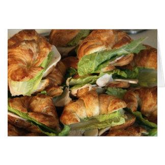 "Card, ""Croissant Sandwiches"""