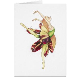 Card - Dancing into light