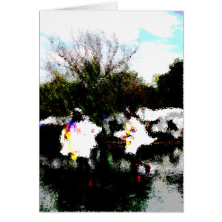 "Card ""Dancing On Water"""