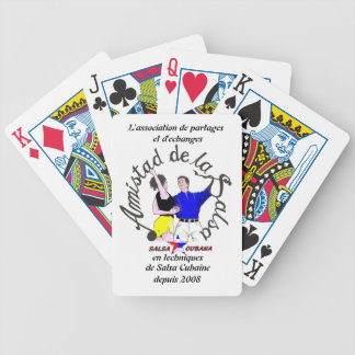 card deck Amistad of the salsa