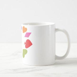 Card Deck Gambling Symbols Coffee Mug