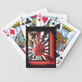 Card deck Japanese style