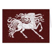 Card - Decorative Holiday Horse