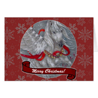 Card - Decorative Holiday Pegasus
