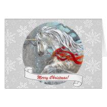 Card - Decorative Holiday Unicorn