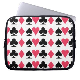 "Card Design 10"" Laptop Bag Computer Sleeves"