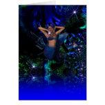 Card Fantasy Art Star Mermaid