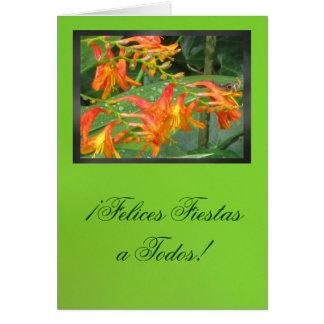 Card - ¡Felices Fiestas a Todos!
