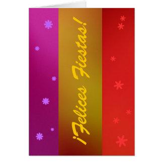 Card - ¡Felices Fiestas! - Multicolor