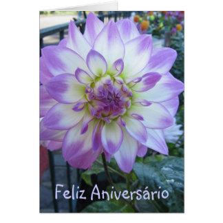 Card - Feliz Aniversário - La Dalia