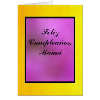 Card - Feliz Cumpleaños, Mamá