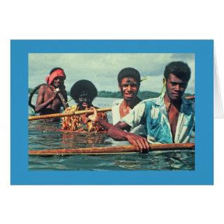 "Card, ""Fishing in Naivuruvuru"" Card"