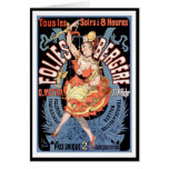 Card: Folies Bergere - Dance Hall