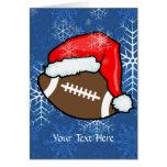 Card - Football Christmas
