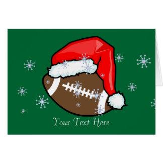 Card - Football Santa