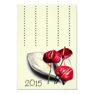 "Card for 2015 3.5"" x 5"" invitation card"