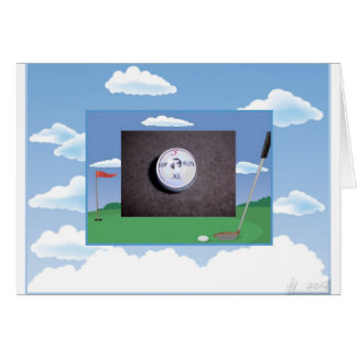 Card for Golf lovers