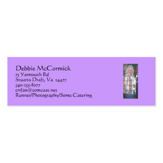 Card for Runner,Photography and Catering Business Card Template