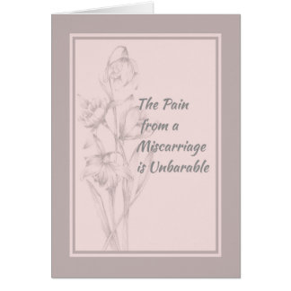 Card for Someone who had a Miscarriage