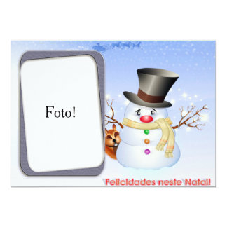"""Card frame """"Happinesses in this Christmas """""""