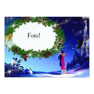 """Card frame """"Night of Christmas """""""