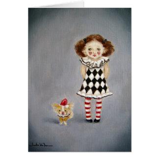 Card/Friends- Clown Card