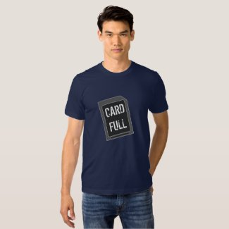 """Card Full"" Photography Shirts"
