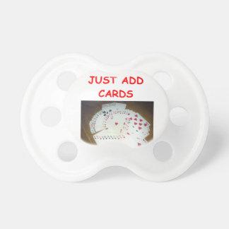card fun pacifier
