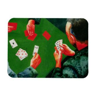 Card Game 1988 Rectangular Photo Magnet