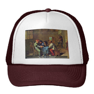 Card Game End Peasants In A Tavern Mesh Hat