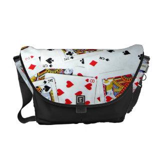Card game fan bag commuter bag