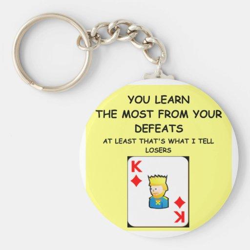 card games keychains