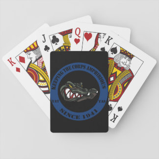 Card Gators Black Edition Playing Cards
