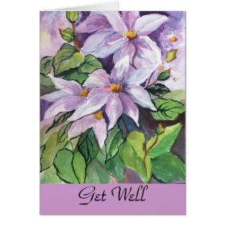 Card- Get well