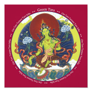 CARD Green Tara - with envelope