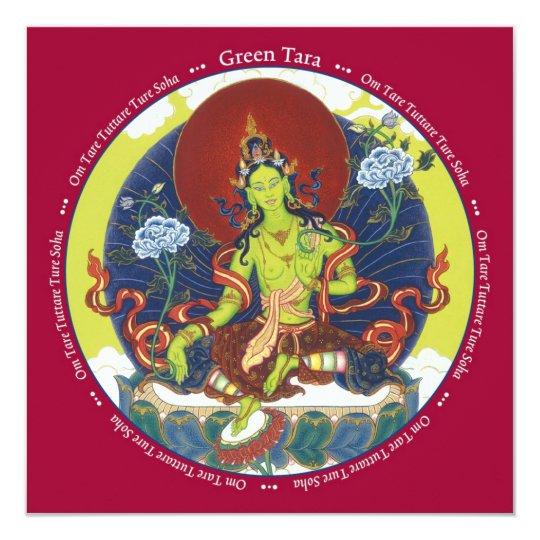 CARD Green Tara - with envelope