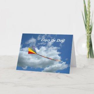 Card - greeting - Enjoy the Day! card