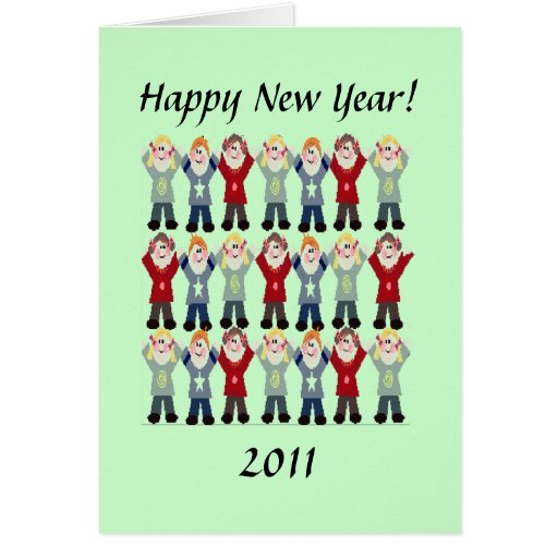 Card - Greeting - Happy New Year