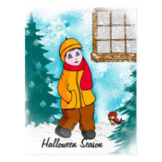 """card """"Halloween season"""""""