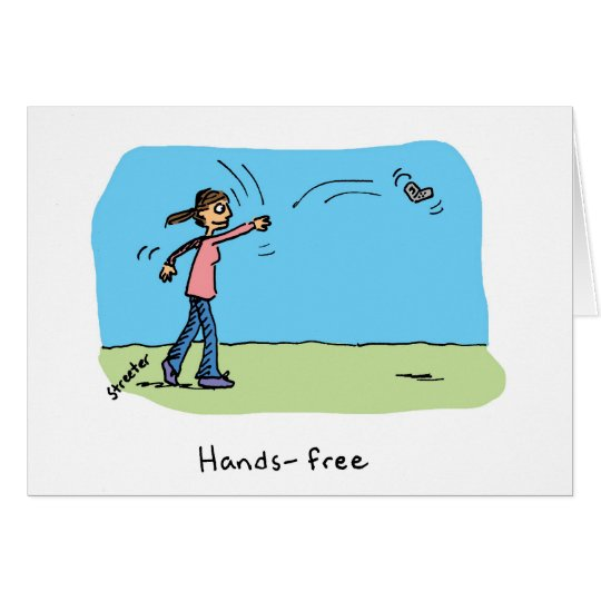 Card: Hands-Free Card