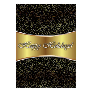Card Happy Holidays Large Business Cards (Pack Of 100)